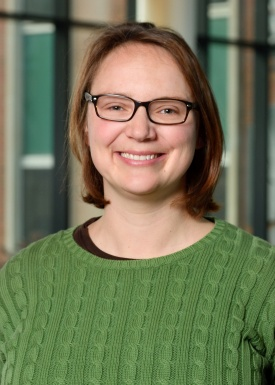 [photo of Assistant Prof. Laura Chomiuk]