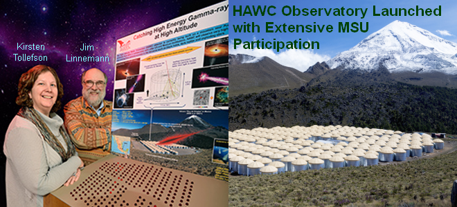 MSU Participation in HAWC Oservatory