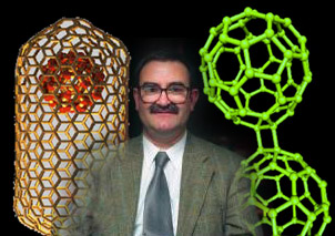 Dr. David Tomanek and the nano-structures he researches