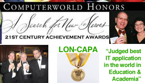 Photo of LON-CAPA ComputerWorld Honors