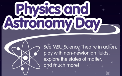 Physics and Astronomy Day psoter
