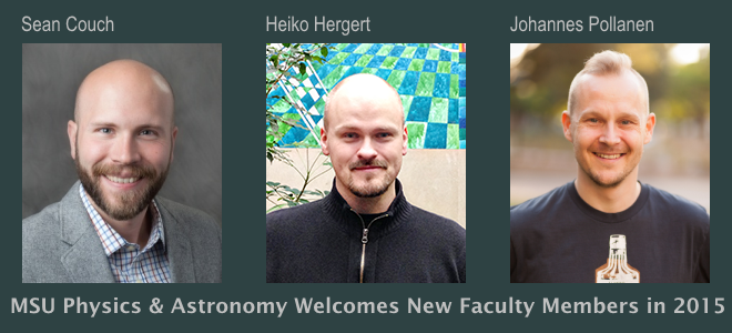 New P-A Faculty Members in 2015-2016 academic year